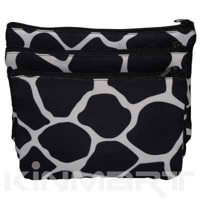 Polka Dots Cosmetic Bag Set