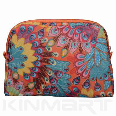Nice Peacock Design Cosmetic Bag Personalised
