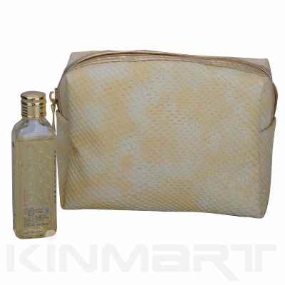 Snakeskin Promotional Cosmetic Bag