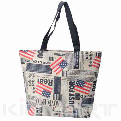 Fashion Flag Shopping Bag