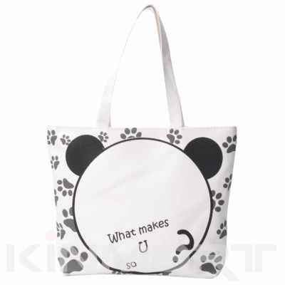Girl's shopping tote bag shoulder bag