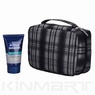 Mens Hanging Toiletry Bag
