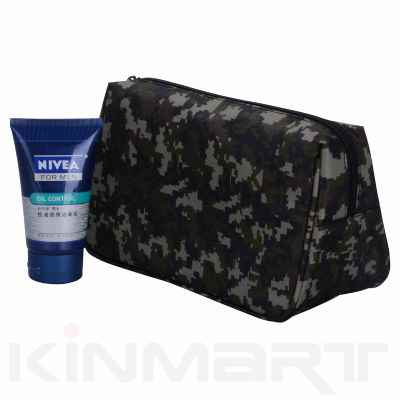Mens Camouflage Toiletry Bags