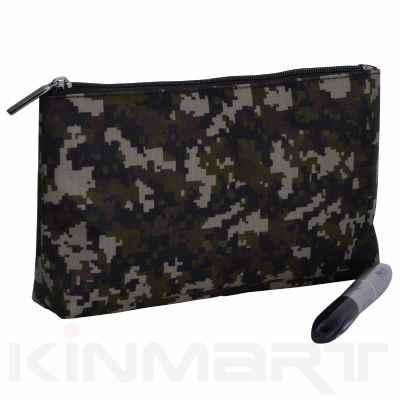 Honeycomb Cosmetic Bag Monogrammed
