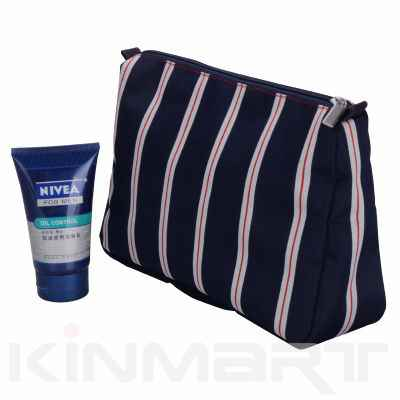 Striped Toiletry Bags