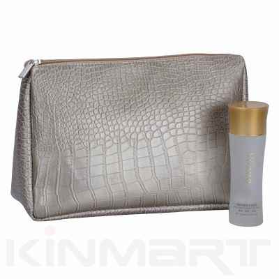 Top Quality Croc PU Leather Toiletry Bag Bulk