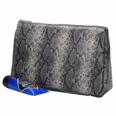 Snake Skin Toiletry Bag