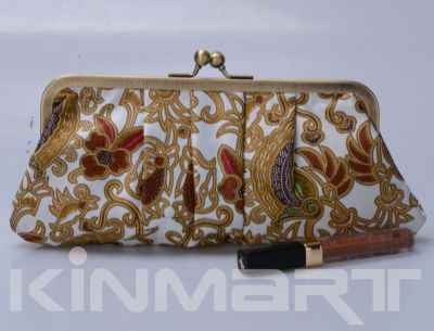High Class Floral Clutch Bag