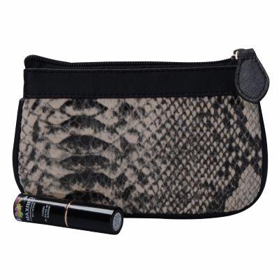 Cheap Hot Sale Snakeskin Cosmetic Bag