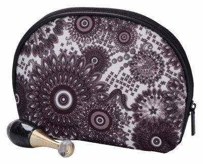 Bulk Peacock Feather Cosmetic Pouch