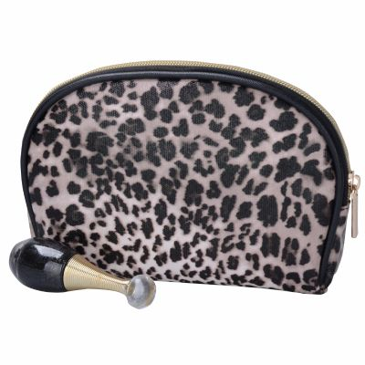Leopard Print Cosmetic Pouch Monogrammed