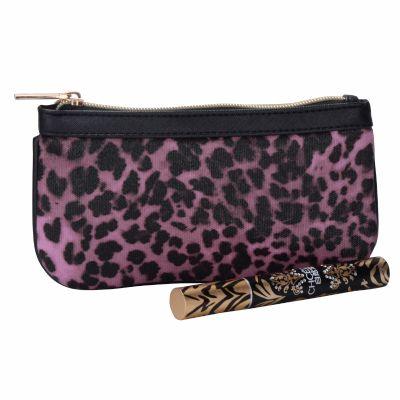 Leopard Pattern Cosmetic Purse
