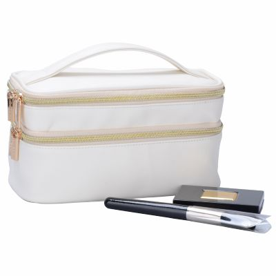 Multi-Functional Cosmetic Case With Handle