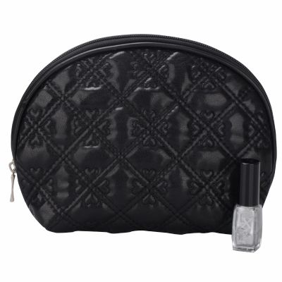 Embroidery Quilted Cosmetic Bag Monogrammed