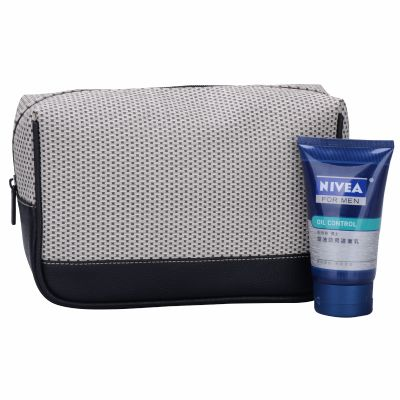 Exclusive Quality PU Leather Men Travel Toiletry Kit Bag Personalised