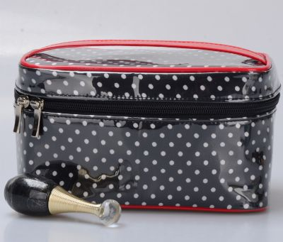 Dots Design Cosmetic Bag