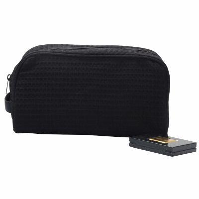 Walf Checked Cosmetic Bag