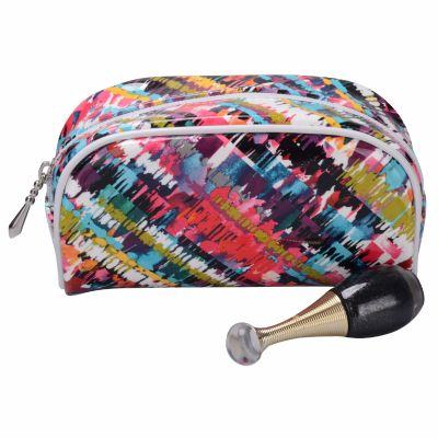 Painted Cosmetic Pouch Personalizable