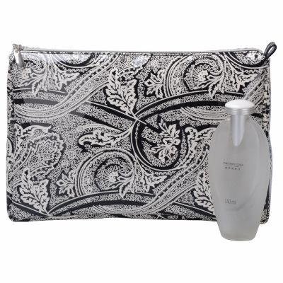 Floral Pattern Toiletry Bag Personalized