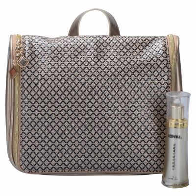 Personalized Glam Luxury Hanging Travel Kit