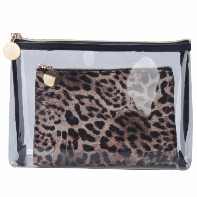 2-pc Set Cosmetic Pouch