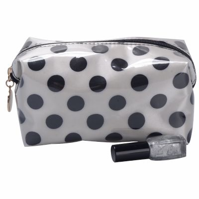 Bulk Polka Dots Cosmetic Pouch
