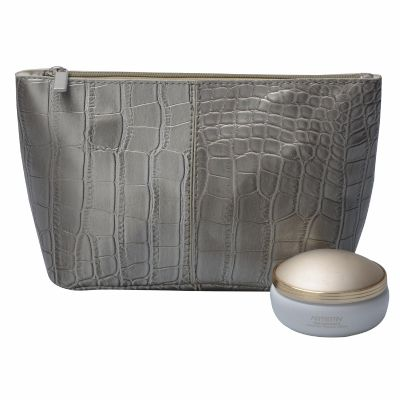 Personalized Luxury Croc PU Leather Cosmetic Bag