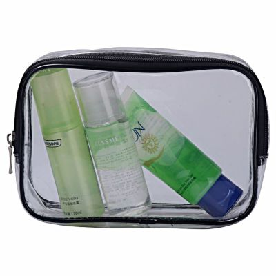 Personalised PVC Vinyl cosmetic bag