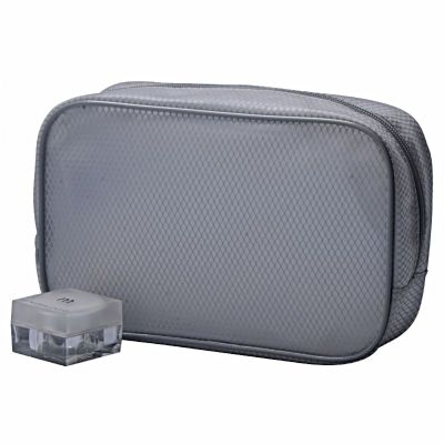 Translucent Personalised Mesh Cosmetic Bag