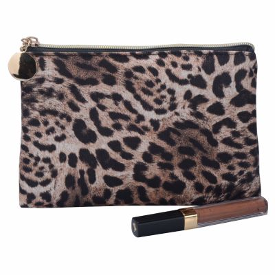 Leopard Pattern Makeup Bag