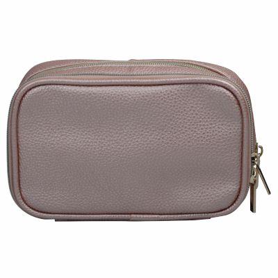 Small PU Makeup Brush Organizer Bag