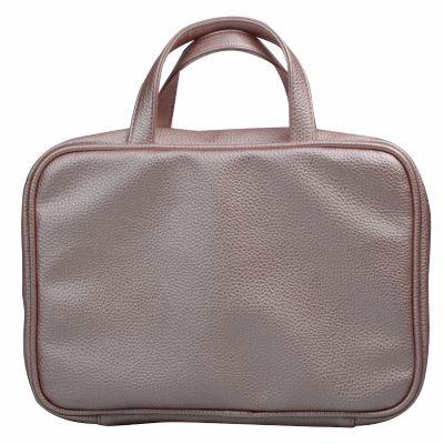 PU Leather Makeup Handbag