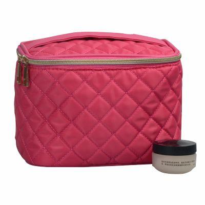 Quilt Makeup Vanity Bag