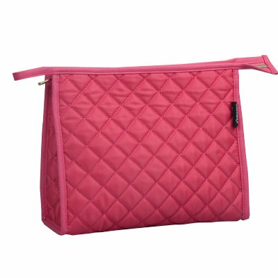 Quilted Rectangular Toiletry Bag Personalised