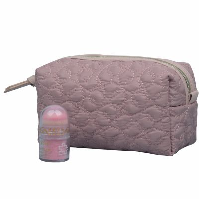 Rectangular Quilt Makeup Pouch
