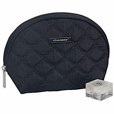 Personalized Semi-Circle Quilt Cosmetic Bag