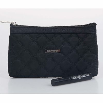 Luxury Quilted Cosmetic Bag Personalizable