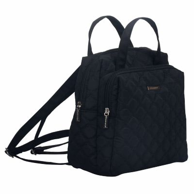 Elegant Ladies Backpack in Quilt Nylon