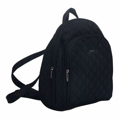 Quilted Ladies Backpack with Shoulder Strap
