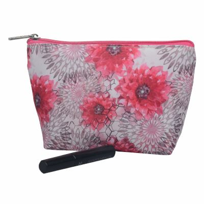 Floarl Monogrammed Makeup Bag