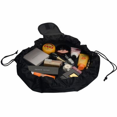 Ripstop Easy N Go Makeup Bag with Drawstring