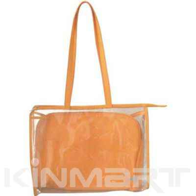 Personalized Beach Bag with Removable Pouches