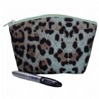 Leopard Print Design Cosmetic Pouch Personalized