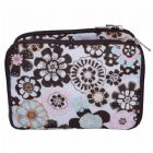 Tri-Layer Makeup Pouch