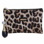 Wholesale Bulk Leopard Pattern Cosmetic Brush Bag