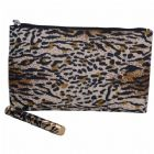 Animal Skin Print Cosmetic Bag
