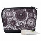 High Quality Peacock Feather Pattern Cosmetic Pouch