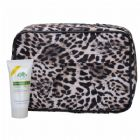 Leopard-print Cosmetic Bag