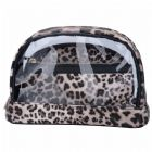 Leopard Skin Pattern 3pc Cosmetic Bag Set
