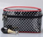 Polka Dots Monogrammed Cosmetic Bag